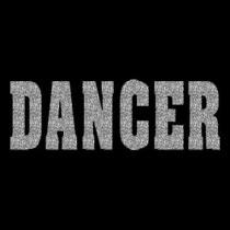 Dancer Silver Glitter