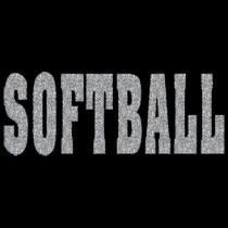 Softball Glitter